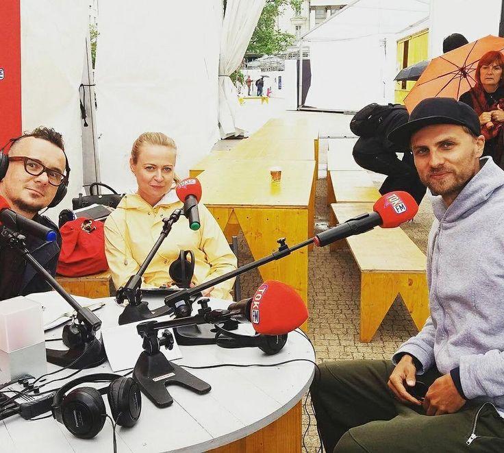 #TOKFM na Festiwalu #Malta w #Poznań #radio #nażywo #nazywo #słuchajcie #TOKFM
