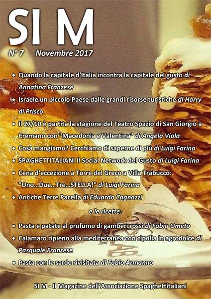Abbiamo pubblicato oggi il numero di novembre del nostro Magazine SI M