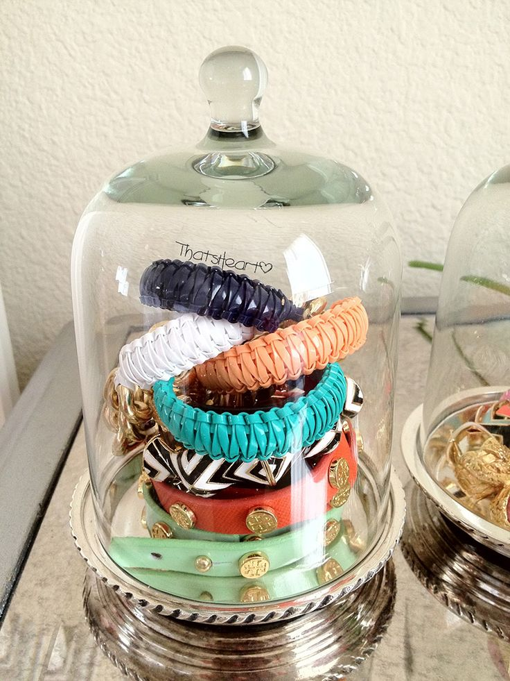 Best Jewelry Storage Images On Pinterest Honey Huge Closet - Bangle bracelet storage ideas