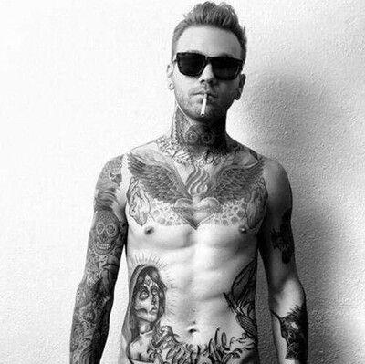 yummy tattooed guy online