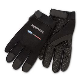 Roush Automotive Collection Store - Ford Raptor Super Grip Mechanics Gloves (3534), $32.95 (http://store.roushcollection.com/car-accessories/ford-raptor-super-grip-mechanics-gloves-3534/)