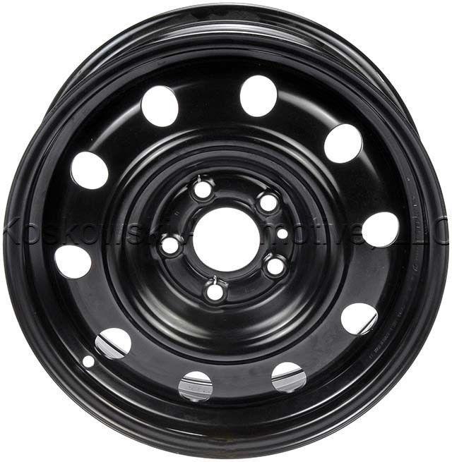 Chrysler Sebring Dodge Avenger Steel Wheel 5105078AA 5105078AB 16 Dorman 939-122 #Dorman