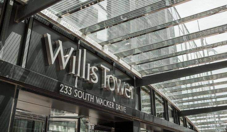 Torre Willis-El Ledge, Chicago, Illinois.  Plataformas de Observación Más asombrosas de norteamérica
