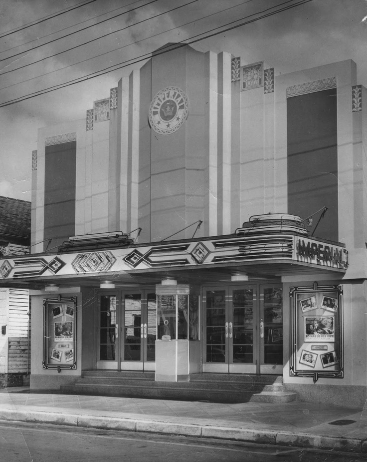 Imperial Theater Canal St. 1940's New Orleans Those