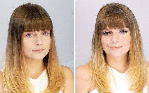 Maquiador mostra como fazer maquiagem destacando o delineador e o rímel!