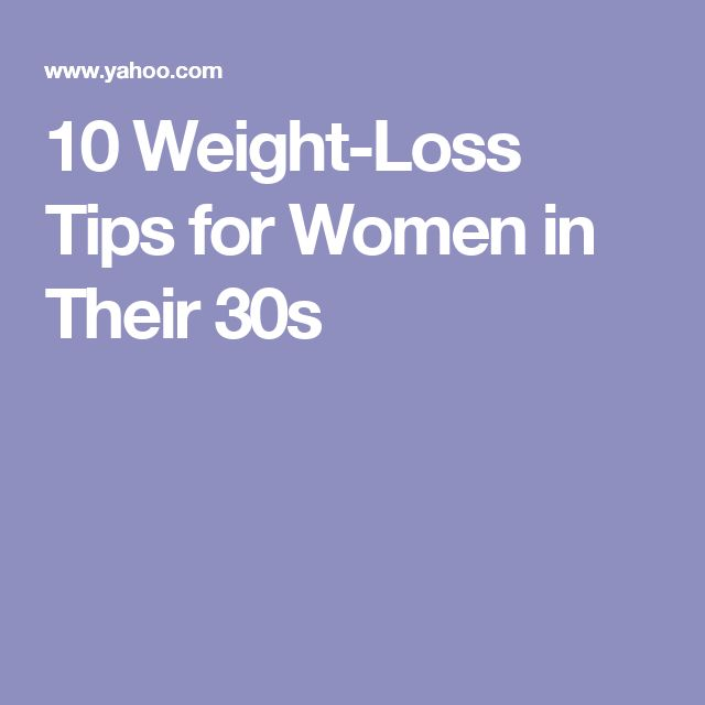 10 Weight-Loss Tips for Women in Their 30s