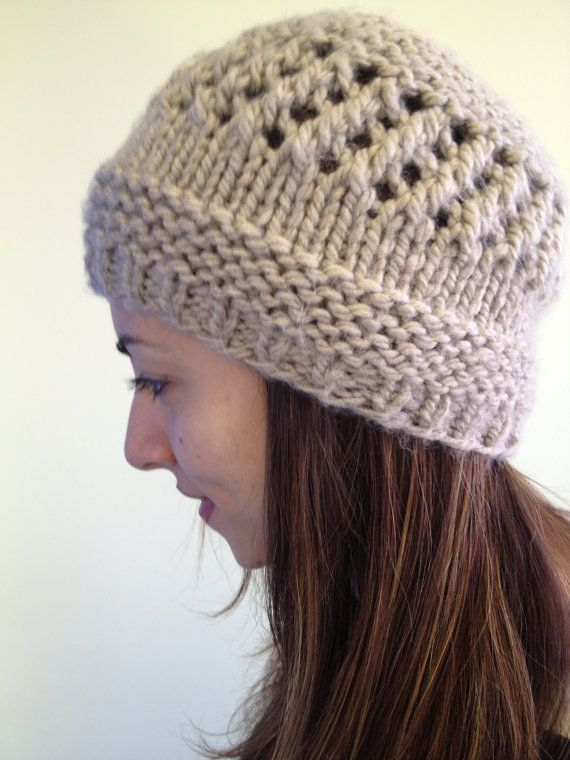 Beige Winter Hat/Women Knit Hat/Soft Winter Hat/Girls by Knitkozi, $20.00 For more selection of these beautiful scarves visit: https://www.etsy.com/ca/shop/Knitkozi?ref=si_shop