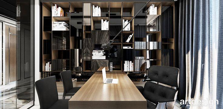 WELCOME TO THE JUNGLE | I | Wnętrza apartamentu | Aranżacja gabinetu