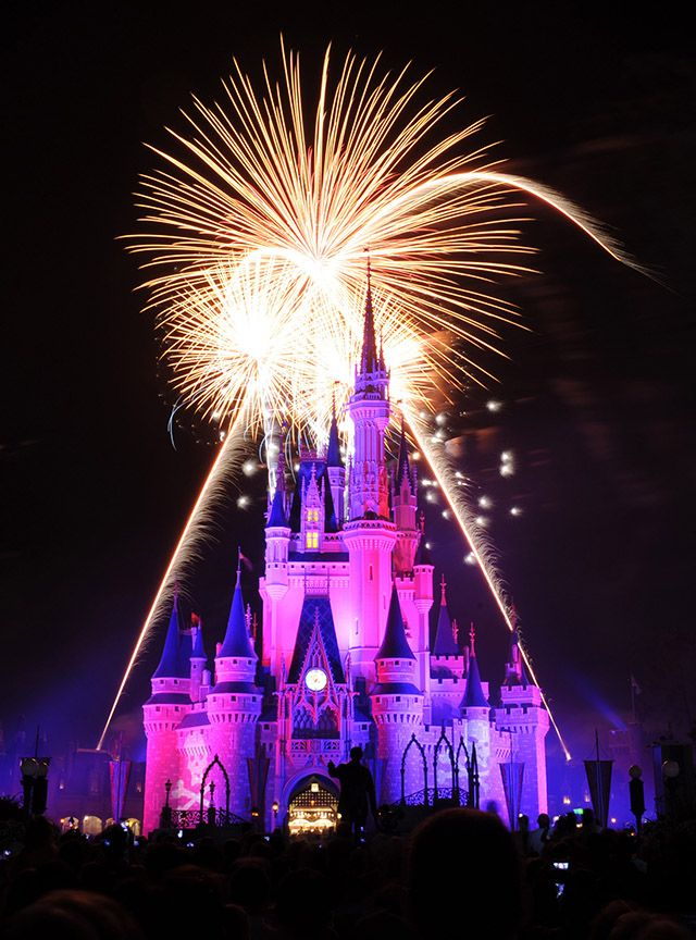 Disney World Cinderella Castle Fireworks Images & Pictures - Becuo