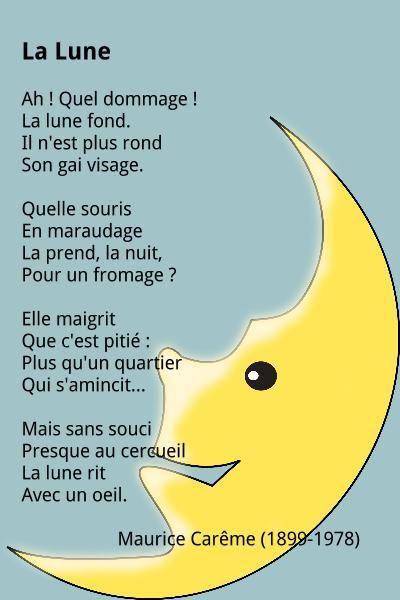 Maurice Carême - La Lune