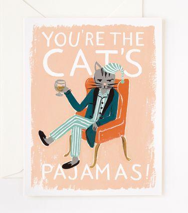 valentine's day card / catspajamas