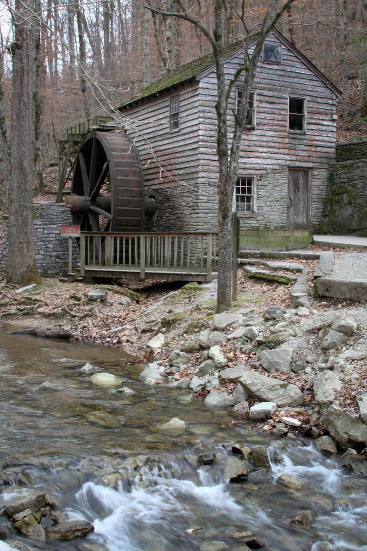 Grist Mill at Norris TN.