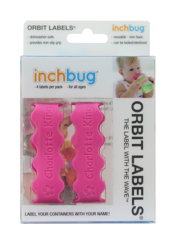 Orbit Labels® • InchBug- These are great for labeling bottles, sippy cups and water bottles!