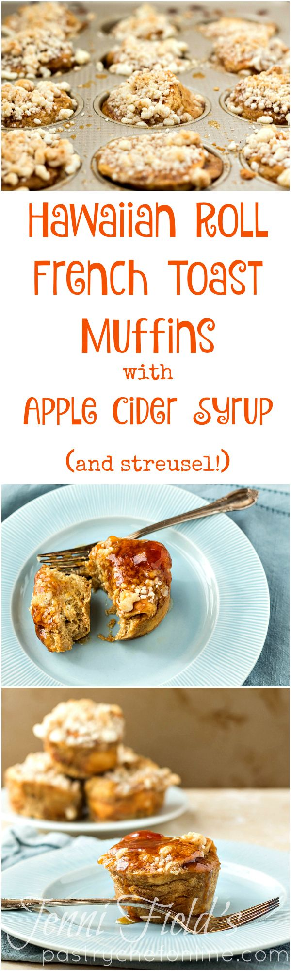 , crunchy streusel and get drenched in apple pie spiced apple cider ...