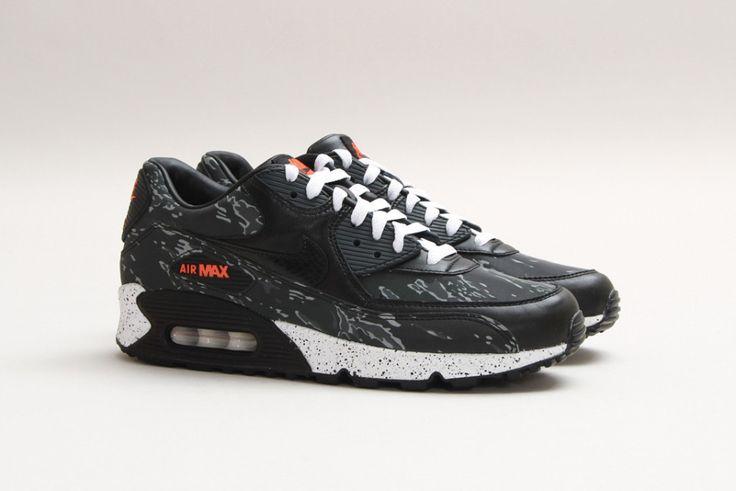 "atmos x Nike Air Max 90 Premium ""Black Tiger Camo"""