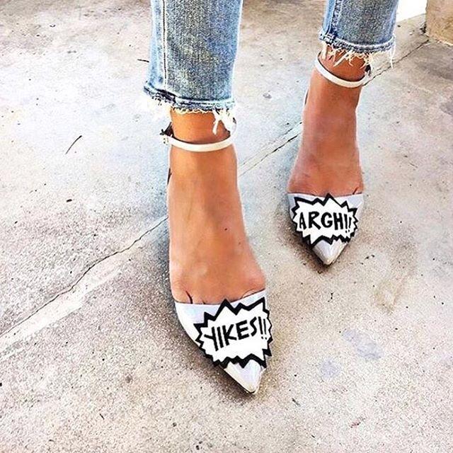 YIKES | Where did the weekend go? | Image via Pinterest | #shoes #shoeenvy #yikes #fashion #streetstyle #style #fashionblogger  #Regram via @chosenbyoneday