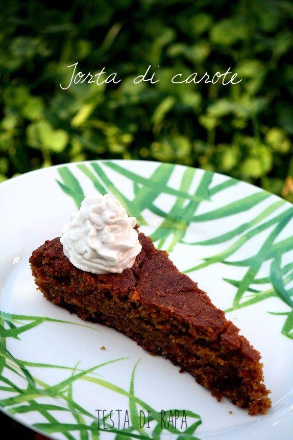 torta di carote * carrot cake