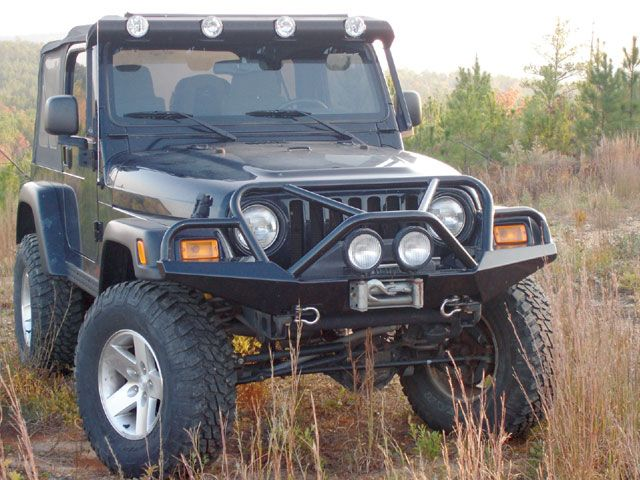 Jeep Wrangler bumpers | Go There Engineering Jeep Wrangler TJ Front Bumper - June '07 Page1 ...