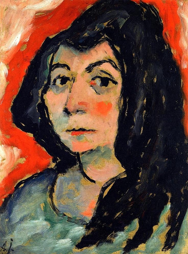 Helene with Her Hair down Alexei Jawlensky - circa 1911