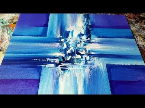 Abstract Painting / DEMO 51 / Subscriber Request / Abstract Art / Painting Techniques - YouTube