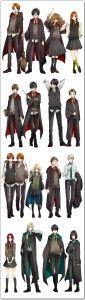 Harry Potter version anime manga streaming online tv legal gratuit 1
