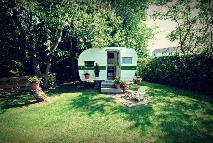Top 63 Ideas About Garden Vintage Camper Guest Houses