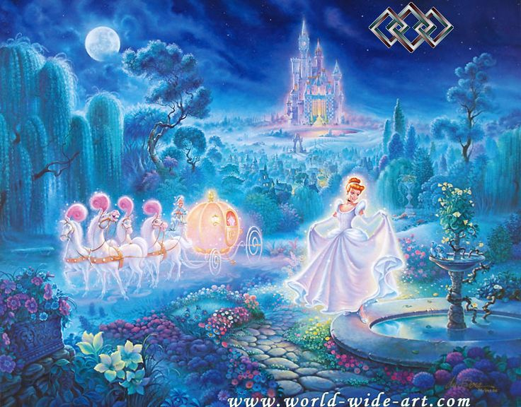 Cinderella - Cinderella An Evening of Magic - Tom duBois - World-Wide-Art.com