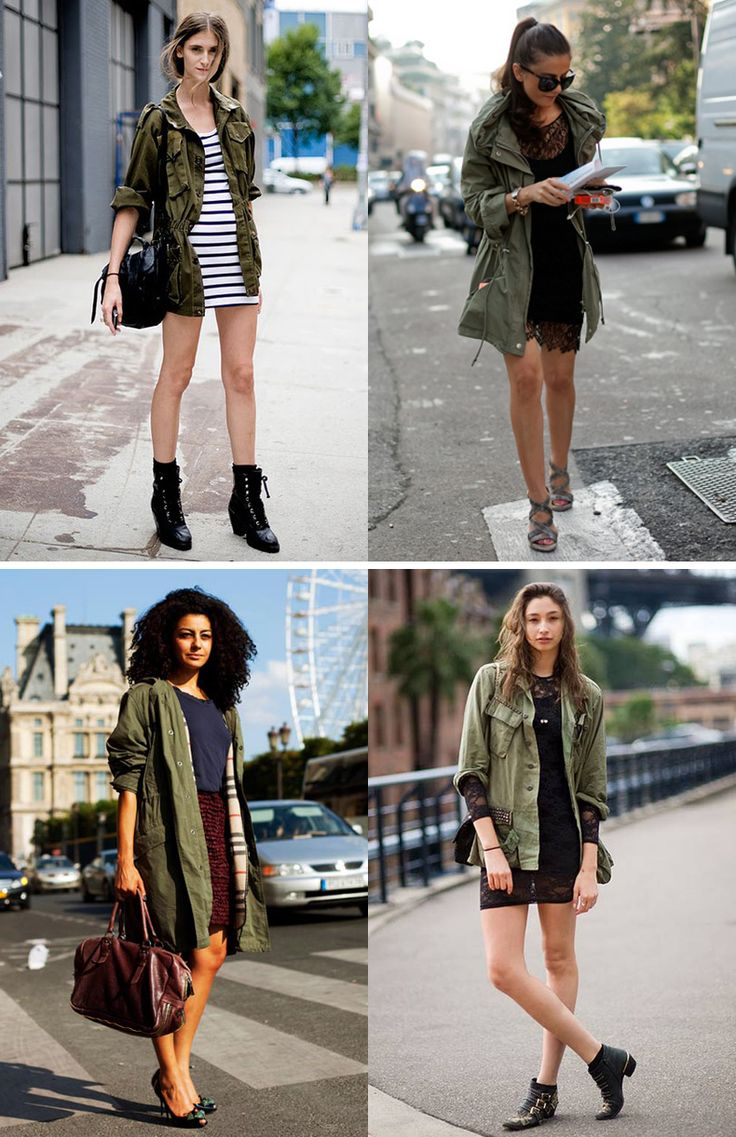 11 best green parka images on Pinterest | Capsule wardrobe, Green ...