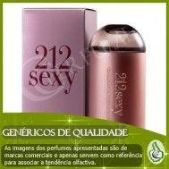 212 SEXY CAROLINA HERRERA (GENÉRICO), PARA MULHER, 100ML