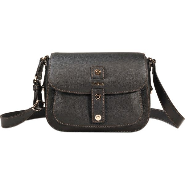Furla Sac Emma S (415 AUD) ❤ liked on Polyvore featuring bags, handbags, black, furla handbags, furla purses, furla bags and furla