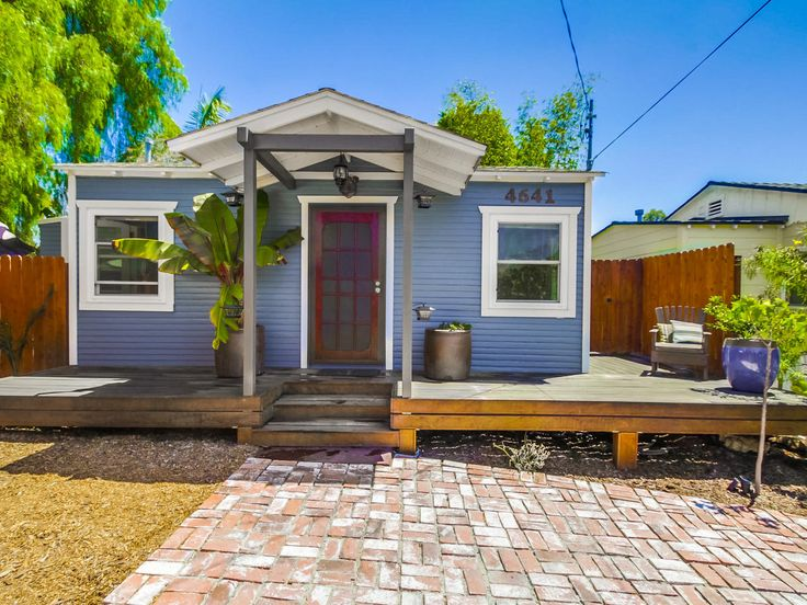 5 Tiny (and Utterly Charming) Beach Houses for Sale Right Now | Each is under 500 square feet, in a gorgeous coastal locale, and lovely inside and out.