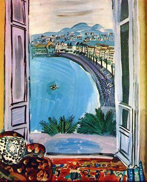Bassin de Deauville, 1935 by Raoul Dufy: