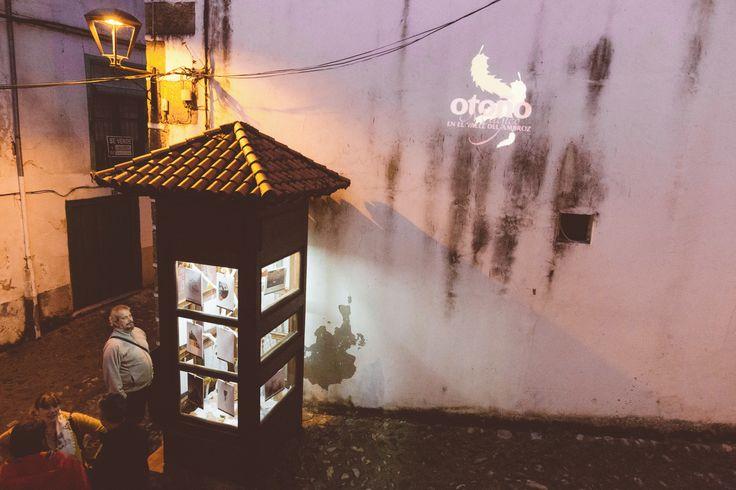Momentos previos a la inauguración de la exposición de Ropa Tendida fanzine, dentro de la celebración del #otoñomágico16 del Valle del Ambroz, en La Cabina de Hervás, Extremadura. Noviembre 2016 https://www.facebook.com/galerialacabina/ www.ropatendidafanzine.com fotografía @na