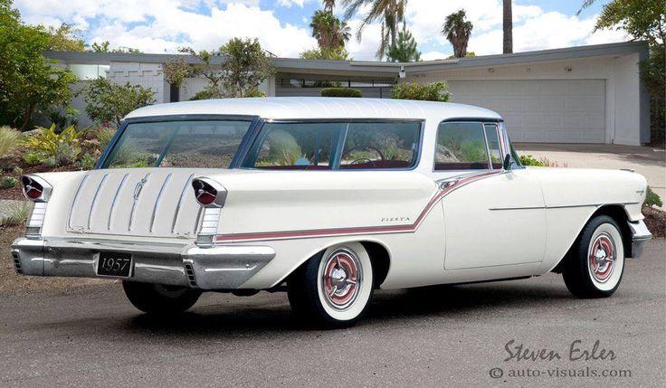 """Oldsmobile '57 """"Nomad"""" wagon"""