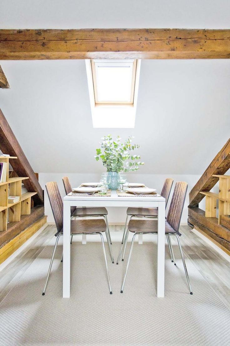30 Square Meters Attic Apartment in Prague gets Stylish Facelift