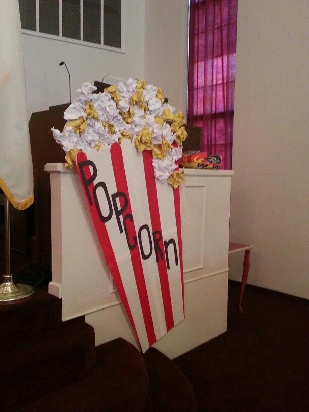 Vbs Colossal Coaster Decorations Popcorn