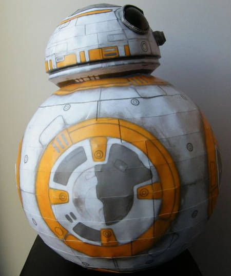 Star Wars - BB-8 Astromech Droid Ver.6 Free Papercraft Download…