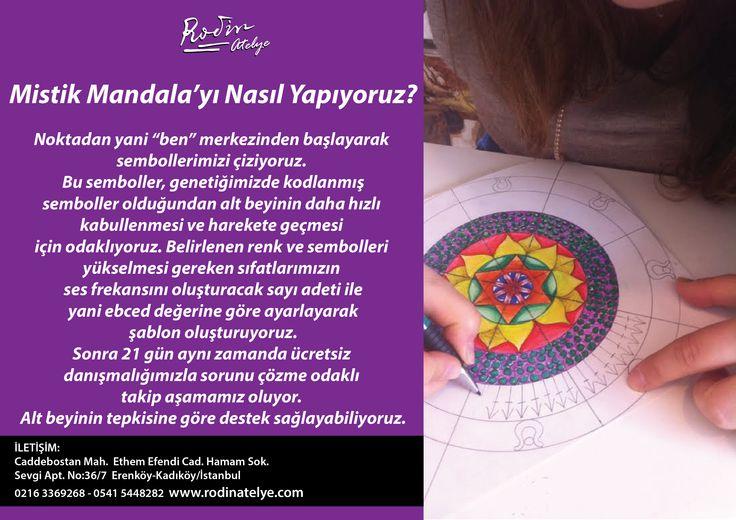 Mistik Mandala'yı Nasıl Yapıyoruz?