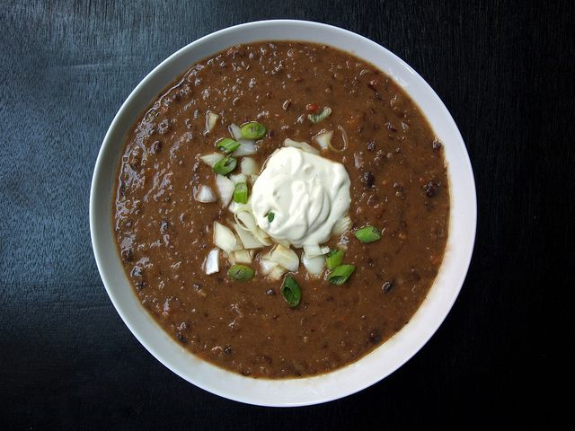 Paleo Smokey Vegetarian Cuban Black Bean Soup