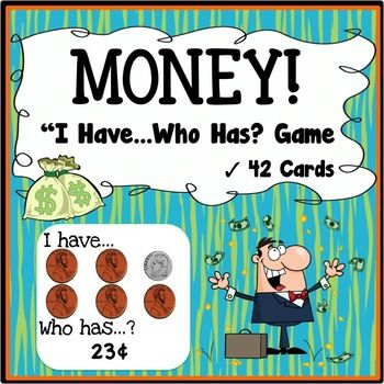 """Money I have, who has Game - Instead of money, we accept ratings and comments as """"payment"""" for this free money game (puns intended!).  This is a free U.S. Money I have... Who has? Game to help students learn to recognize money and count money $1 and under."""