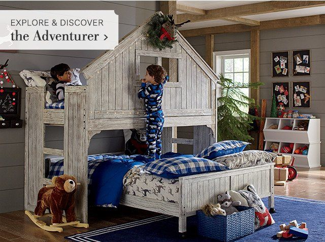 Best Kids Birch Lane Kids Bunk Beds House Bunk Bed Bunk 640 x 480
