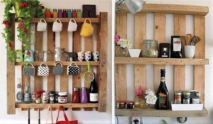 11++ Etagere en palette pour cuisine ideas