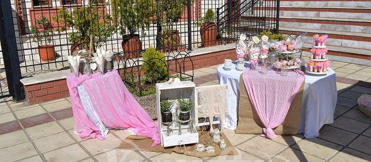 Στολισμός γάμου βάφτισης wedding baptism decoration