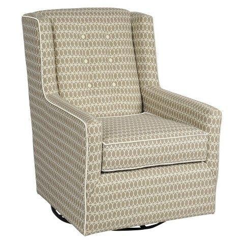 Little Castle Custom Upholstered Charleston Glider - Spring Quartz ...