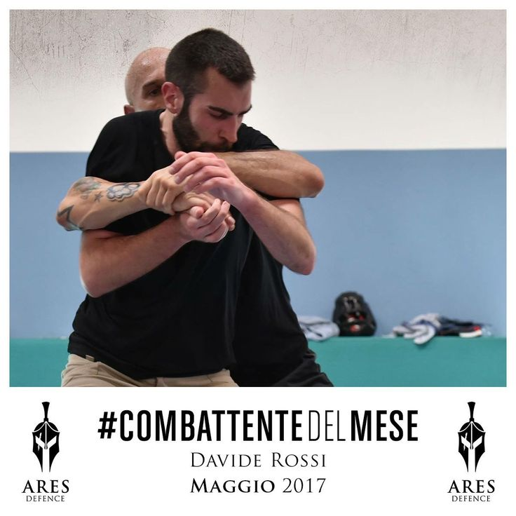 Il nostro #CombattenteDelMese di Maggio è Davide Rossi! Complimenti! Entri ufficialmente nel Wall of Fame di ARES 💪🏼👊🏼🙅♂️  Chi sarà l'ultimo combattente vincitore?? Appuntamento al mese prossimo!  #WeAreARES