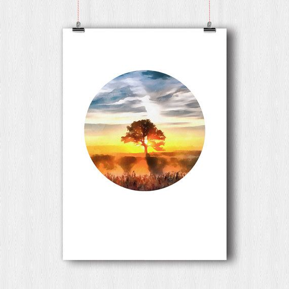 Printable Digital Poster  Drawing on photos Digital от YouniART