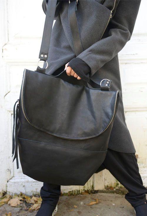 High Quality Special Bag / LArge Black Tote Bag / by Metamorphoza
