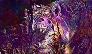 "New artwork for sale! - "" Tiger Predator Fur Beautiful  by PixBreak Art "" - http://ift.tt/2vCdLtZ"