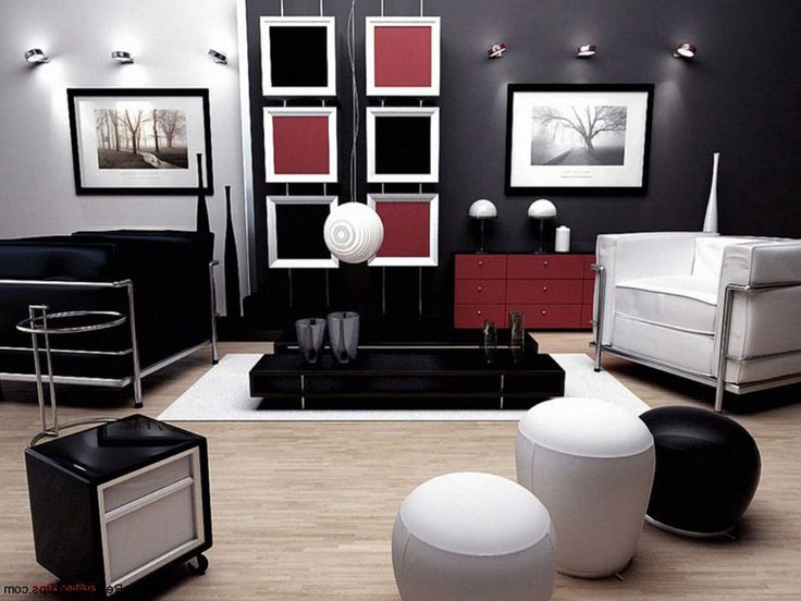 Post-Modern Architecture and Interior Design | Living Room
