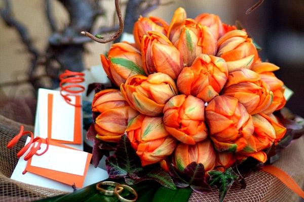 bouquet da sposa tulipani